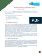 Acta Asamblea Gral. de Estudiantes de Odontología UdeC. 17-04-2013