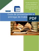 GUIA DE PRESENTACION Y ENTREGA DE TRABAJOS DE GRADO USC-ECCI OFICIAL.doc