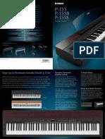 Yamaha P155 Brochure