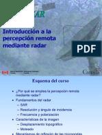 Introducción a la Percepción Remota mediante Radar