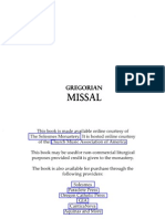 Gregorianmissal Eng