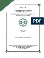 Pembaharuan Islam India Pakistan Ali Iqbal Dan Jinnah