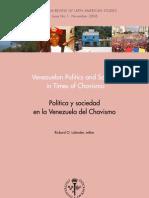 Política y sociedad en la Venezuela del Chavismo, Rickard O. Lalander, 2006