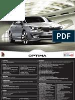 Kia Optima technical Specifications