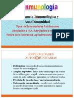 12-Tolerancia Inmunologica y Autoinmunidad