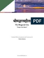 Bhagavad Gita tr. Charles Johnston
