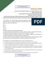 @bellorodrigo - 30 Questões Processo Penal DPE