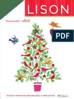 Galison Holiday Fall 2013 Catalog