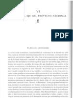 El Estado, Eje Del Proyecto Nacional. Historia Del Siglo XX Chileno. Correa Et Al.