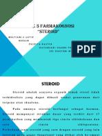 Slide Makalah Steroid