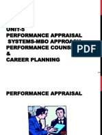 HRM Unit-5 Performance Appraisal