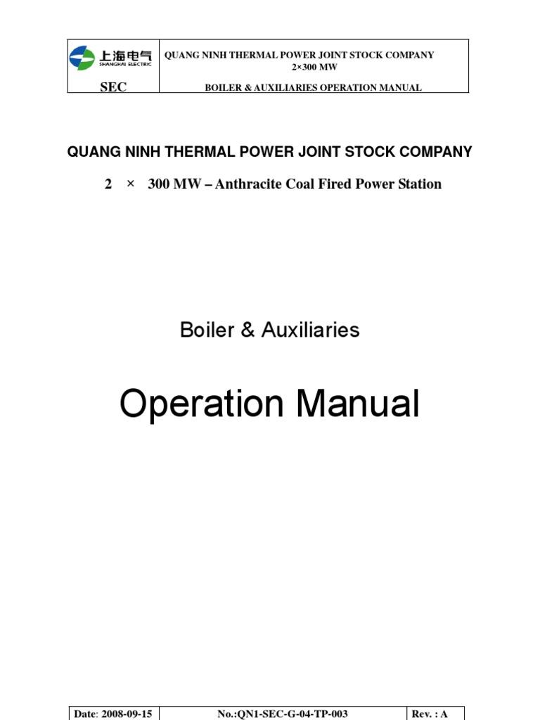 Boiler Operation Manual QN1 SEC G 04 TP 003(239)   Boiler ...