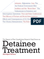 Task Force on Detainee Treatment - Abridged