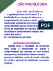 AVALIAÇÃO PSICOLÓGICA 1
