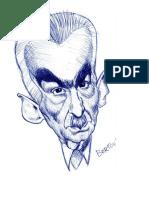 Caricatura Monteiro Lobato