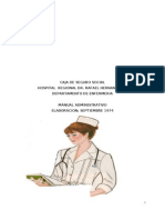 Manual de Administrativo de Enfermeria (Copia)