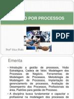 Gestão de Processos unidades 1 e 2
