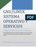 Linux -Sistema Operativo y Servicios