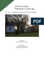 Tuckahoe Plantation's Landscape