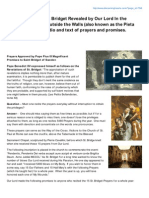 15 prayers of St. Gertrude