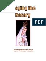 Praying the rosary, testimony of catalina, visionary
