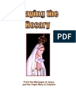 Praying the rosary, testimony of catalina, visionary