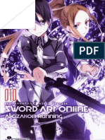 Sword Art Online 10 - Alicization Running