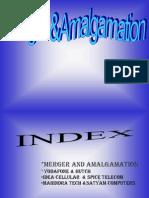 Merger & Amalgamation