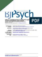 Antideppresants Negative Symptoms Schizophrenia