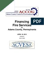 Fire Study Final Adams County 04-18-13