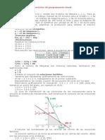 Ejercicios resueltas de programación lineal