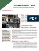 Case Study Summary - Nepal