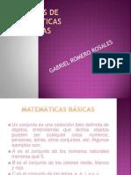 Apuntes de matemáticas básicas