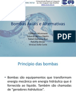 Bombas Axiais e Alternativas