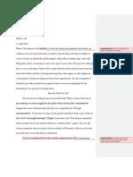 Peer Review of Kim Lippe CAP