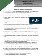 Estudo dirigido 01 – Soluções e Estequiometria_20130313013911
