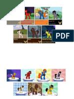 Printed Trek Ponies for Con Signage