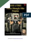 3 Day a Week Power Strength Size Program