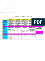 t2 timetable 2013