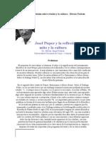 Josef Pieper y la reflexión sobre el mito y la cultura