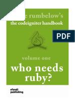 Codeigniterhandbook Vol 1