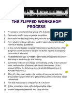The Flipped Workshop Process