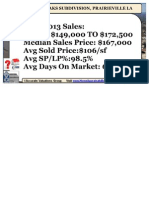 Parkwood Oaks Subdivision Home Prices Prairieville LA 70769