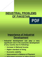 Industrial Problems of Pakistan