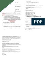 Diagonalização e lista geral para P2