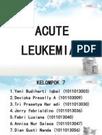 PPT Leukemia Akut