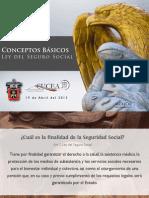 Conceptos Básicos Ley del Seguro Social (Abr 2013)