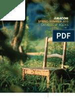 AMACOM Spring Catalog - 2013