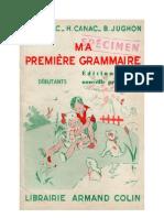 Langue Française Grammaire CE1 Ma première grammaire Auriac Canac Jughon