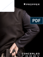 Propper Concealed Carry Catalog 2013